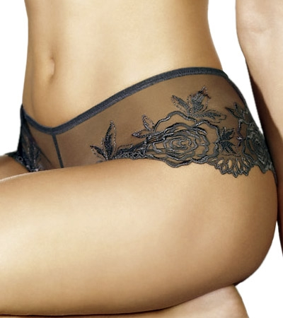 Wacoal Luxe A Rose Is A Rose Boy Leg  :  lingerie underwear panty knickers